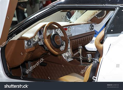 Spyker C8 Aileron Interior Is Seen At The