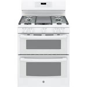 sears kitchen furniture shop ge 30 in 5 burner 2 5 cu ft self cleaning oven convection gas range white at lowes