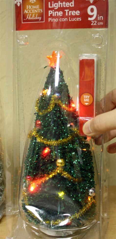 tiny christmas tree with lights decoratingspecial com