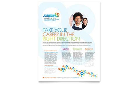 Career Brochure Template by Expo Career Fair Tri Fold Brochure Template Design