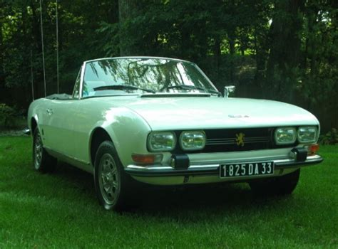 Peugeot 504 For Sale Usa by Bat Exclusive 1972 Peugeot 504 Cabrio Bring A Trailer