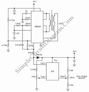 Digitizing A Lvdt Transducer Interface Output  U2013 Simple Circuit Diagram
