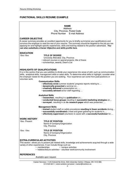 job resume communication skills httpwwwresumecareer