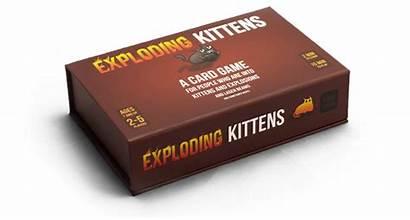 Board Games Kickstarter Exploding Kittens Card Popular
