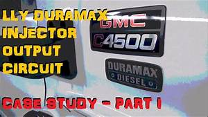 Duramax Lly - Ficm    Injector Trouble    Misfire - Part 1