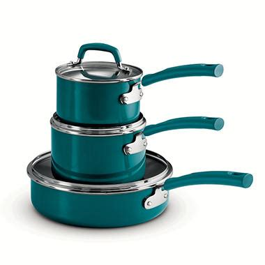 tramontina  piece stackable cookware set assorted colors sams club