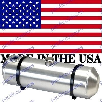 10x33 spun aluminum gas tank with sending unit flange with two baffles 11 gal ebay