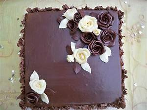 You have to see Chocolate Ganache Birthday Cake by ...