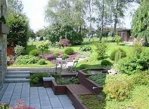 des conseils en decoration maison et jardin comment With attractive amenagement autour de la piscine 11 piscine en pente