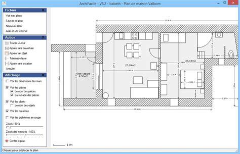 plan de maison et plan d appartement gratuit logiciel archifacile