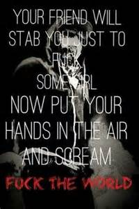 Best 25+ Hollyw... Knife Song Quotes