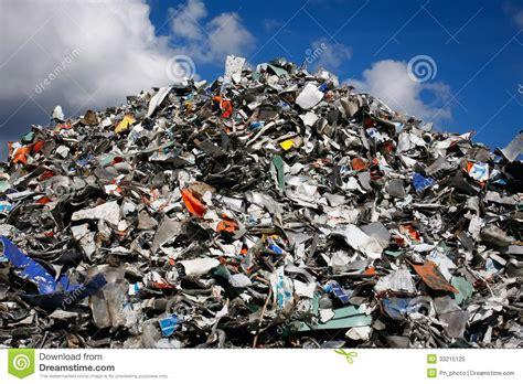 Waste Mountain Stock Image Image Of Garbage, Run, Supply