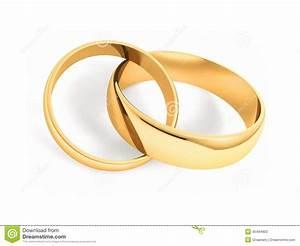 wedding rings stock illustration image of background With linked wedding rings