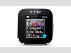 SmartWatch Features Sony Mobile United States