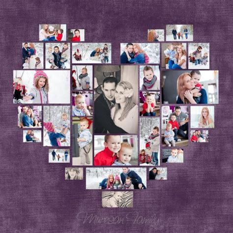 4 Picture Collage Template by Best 25 Photo Collage Template Ideas On Photo