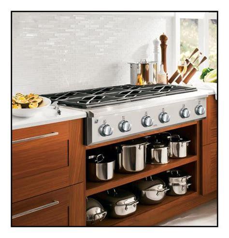 cafe cafe series  built  gas cooktop silver cgusehss  buy