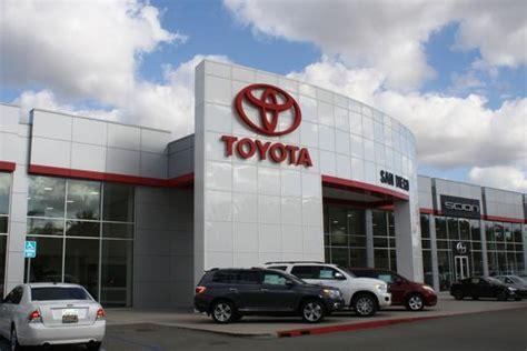 Toyota Dealership San Diego by Toyota San Diego San Diego Ca 92120 Car Dealership And