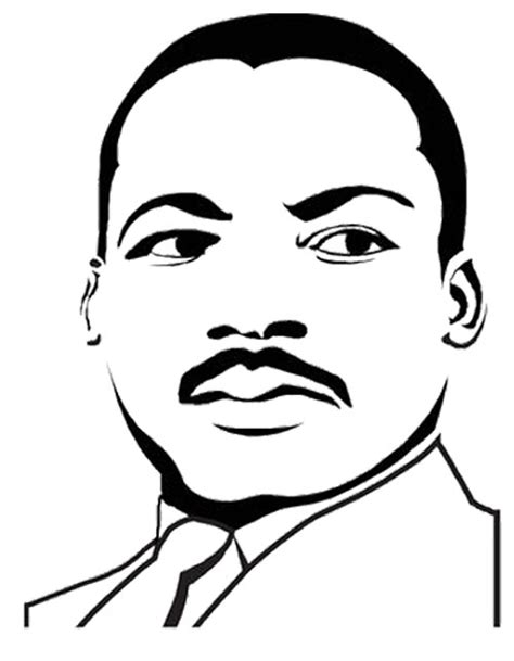 Martin Luther King Jr Coloring Pages - Coloring Home