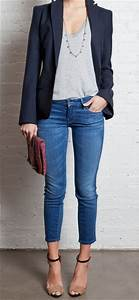 Love this for a casual night out! | Outfits | Pinterest | Night Out Casual and Blazers