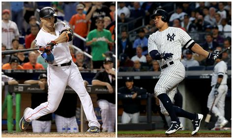 aaron judge uniform aaron judge thrilled to have giancarlo stanton on yankees