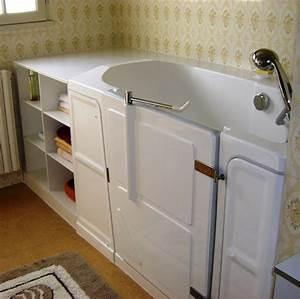 Baignoire Avec Porte Pour Senior : baignoire pour senior simple marches de baignoire ~ Premium-room.com Idées de Décoration