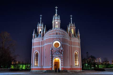Photo 486 05 Chesma Chesmenskaya Church At Evening St