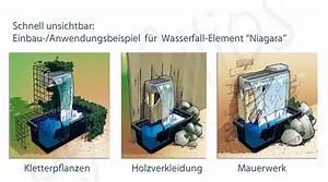 ubbinkr wasserfall set niagara led 30 oder 60cm With französischer balkon mit garten wasserfall komplettset