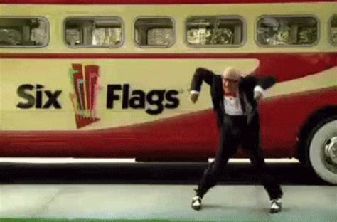 Six Flags Meme - dance party dancing gif find share on giphy