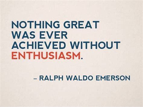 It Is With Great Interest And Enthusiasm That I Am Applying by Nothing Great Was Achieved Without Enthusiasm