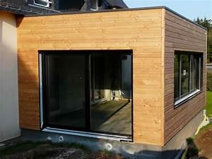 Extension Maison Bois Kit : extension en bois prix maison ossature ~ Melissatoandfro.com Idées de Décoration