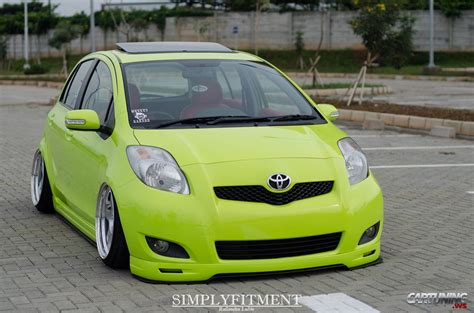 stance toyota stance toyota yaris cartuning best car tuning photos