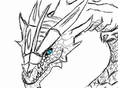 Skyrim Dragon Head Coloring Metal Dragons Deviantart