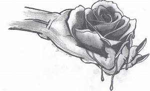 The gallery for --> Bleeding Rose Drawing