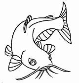 Catfish Coloring Pages Eyes Eye Drawing Sketch Beuatiful Printable Scary Animal Bluegill Clipart Dinner Template Preschool Getcolorings Getdrawings Pencil Place sketch template