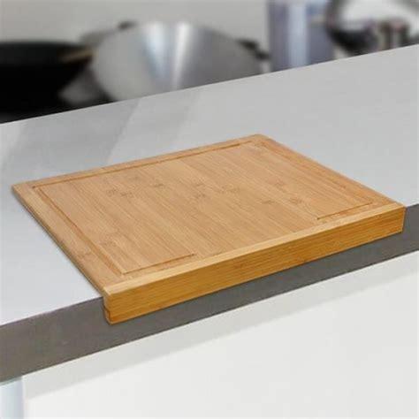 planche bois cuisine planche à découper en bambou pour plan de travail achat