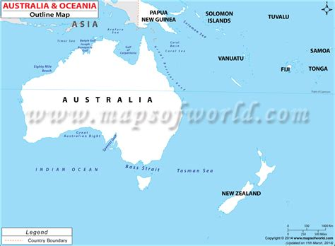 blank map  australian continent australian continent