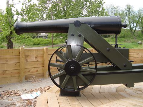 siege canon 24 pounder iron siege gun pattern of 1845 steen cannons