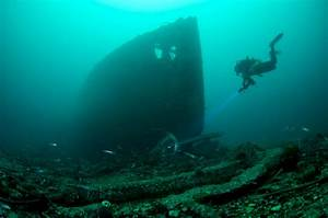 Diving | Shetland.org  Wreck