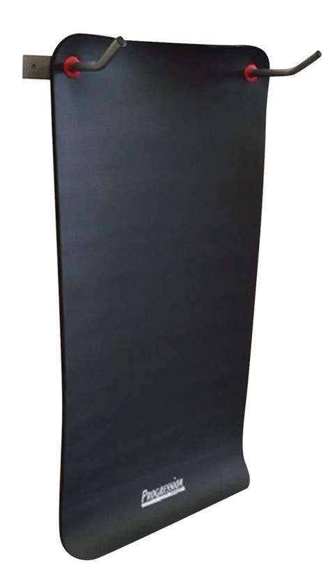 exercise mat wall rack