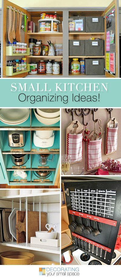 small organized kitchen small kitchen organizing ideas tutorials kitchens and 2371