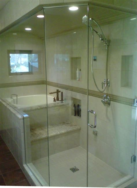 Soaking Tub With Shower by Japanese Soaking Tub Shower Bathroom Contemporary With