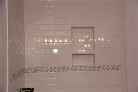 bathroom tiled showers ideas shower niches are they that cool pro construction