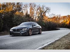 Mean Looking BMW M4 With HRE Wheels