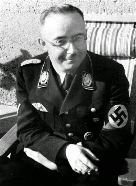 World War Ii In Pictures Heinrich Himmler, Hitler's