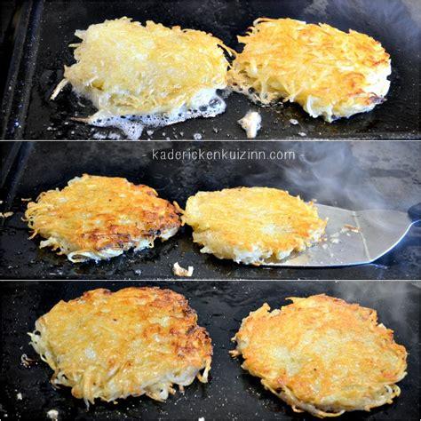 recette de cuisine a la plancha plancha rosti recette röstis pommes de terre à la plancha
