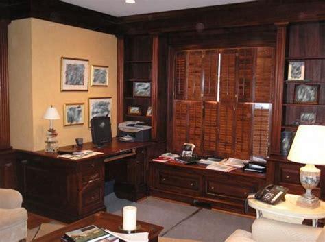 custom  mahogany executive office  library