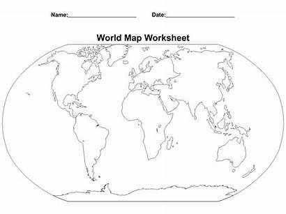 Worksheet Map Printable Printablee