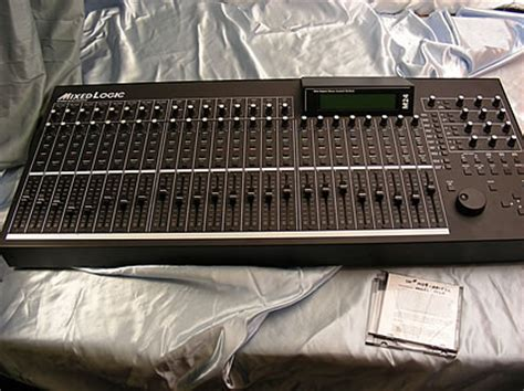 mixed logic   channel control surface motorized flying faders daw pro tools ebay