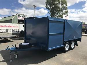 Car Trailer Design Regulations 8x5 Front Double Enclosed Box Lawn Mower Trailer