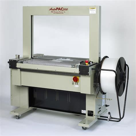 automatic strappers automatic plastic strapping machines pac strapping products